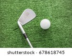 golf course | Shutterstock . vector #678618745