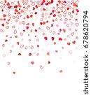 heart shape outline love... | Shutterstock .eps vector #678620794
