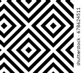 abstract pattern black and... | Shutterstock .eps vector #678624511