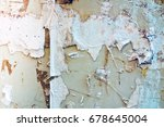 old posters grunge textures and ... | Shutterstock . vector #678645004