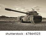 Retro Army Tank