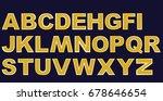 alphabet   Shutterstock .eps vector #678646654