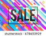 vector illustration. abstract... | Shutterstock .eps vector #678653929