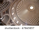 Dome Of  St. Mary Church  At...