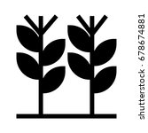 plants icon | Shutterstock .eps vector #678674881