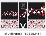 alice in wonderland. set of...   Shutterstock .eps vector #678683464