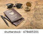 planning travel concept ... | Shutterstock . vector #678685201
