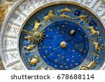 Ancient clock torre dell...