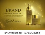 a beautiful cosmetic templates... | Shutterstock .eps vector #678705355