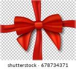 illustration of vector red... | Shutterstock .eps vector #678734371