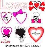 fun valentine vector collection | Shutterstock .eps vector #67875232
