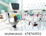 robotics trends technology... | Shutterstock . vector #678763921