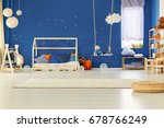 scandinavian decorated original ... | Shutterstock . vector #678766249