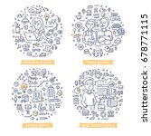 doodle vector concepts of... | Shutterstock .eps vector #678771115