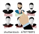 human resources management... | Shutterstock .eps vector #678778891