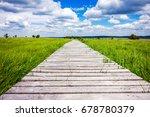 Beautiful Wide View Path...