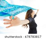 beautiful joyful mature woman... | Shutterstock . vector #678783817