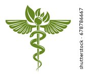 caduceus symbol composed with...   Shutterstock .eps vector #678786667