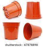 The Plastic Flower Pot