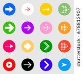 flat set of the colorfull... | Shutterstock .eps vector #678813907