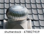 Roof Ventilator On The Roof Of...