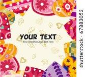 love heart card | Shutterstock .eps vector #67883053