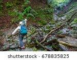 people climbing | Shutterstock . vector #678835825