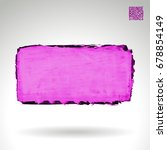 purple brush stroke and texture.... | Shutterstock .eps vector #678854149