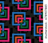 endless abstract pattern....   Shutterstock .eps vector #678907885