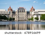 new york state capitol building ... | Shutterstock . vector #678916699