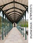 herrenhausen gardens in hanover ... | Shutterstock . vector #678920371