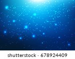 vector stars from the outlines... | Shutterstock .eps vector #678924409
