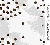 abstract vector texture in... | Shutterstock .eps vector #678933499