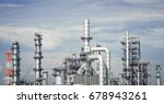 industrial zone the equipment... | Shutterstock . vector #678943261