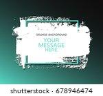 hand painted universal ink... | Shutterstock .eps vector #678946474