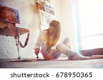 search for inspiration  muse... | Shutterstock . vector #678950365