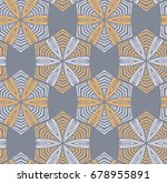 vector seamless pattern with... | Shutterstock .eps vector #678955891