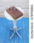 retro style   vintage bible and ... | Shutterstock . vector #678958861