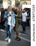 paris september 28  2016. top... | Shutterstock . vector #678971539