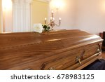 funeral and mourning concept  ...   Shutterstock . vector #678983125