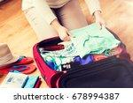 summer vacation  travel ... | Shutterstock . vector #678994387