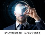 business  augmented reality and ... | Shutterstock . vector #678994555