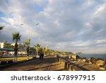 beautiful view of iskenderun... | Shutterstock . vector #678997915
