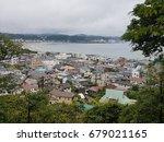 village near the mountain ... | Shutterstock . vector #679021165