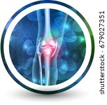 joint health care icon ... | Shutterstock .eps vector #679027351