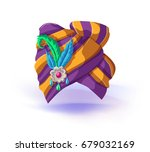 turban headdress eastern... | Shutterstock .eps vector #679032169