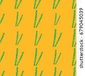 Asparagus Vector Seamless...