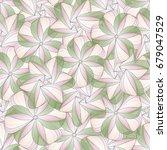 delicate spring seamless... | Shutterstock .eps vector #679047529