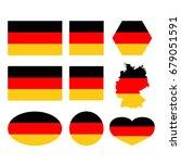 vector illustration of germany... | Shutterstock .eps vector #679051591