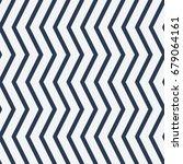 pattern in zig zag. classic... | Shutterstock .eps vector #679064161